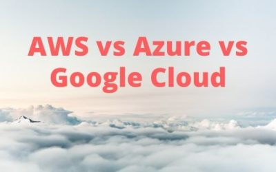 AWS vs. Azure vs. Google Cloud